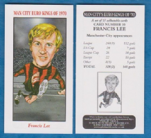 Manchester City Francis Lee England